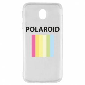 Etui na Samsung J7 2017 Polaroid