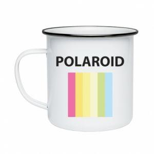 Kubek emaliowane Polaroid