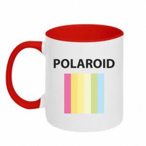 Kubek dwukolorowy Polaroid