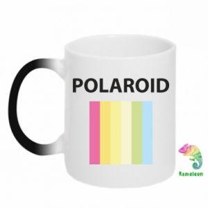 Kubek-kameleon Polaroid