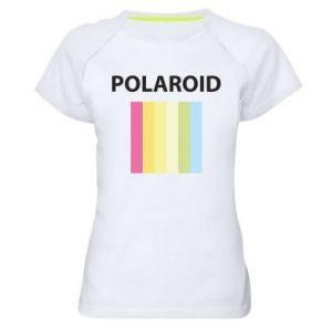 Damska koszulka sportowa Polaroid