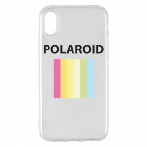 Etui na iPhone X/Xs Polaroid