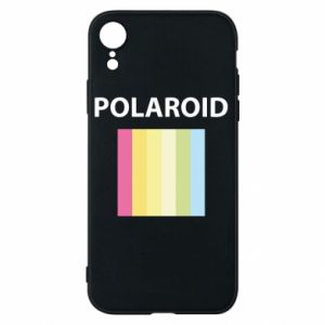 Etui na iPhone XR Polaroid
