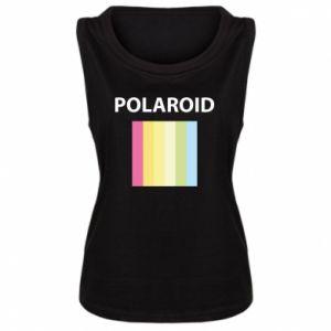 Damska koszulka bez rękawów Polaroid