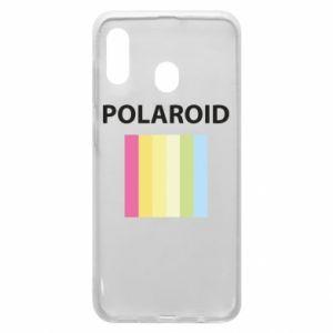 Etui na Samsung A20 Polaroid