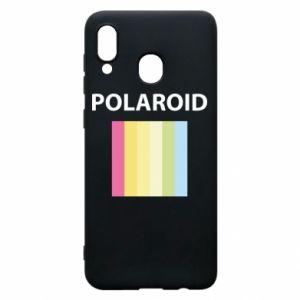 Etui na Samsung A30 Polaroid