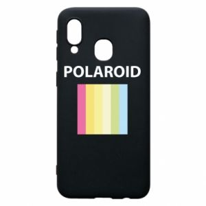 Etui na Samsung A40 Polaroid