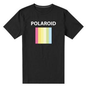 Męska premium koszulka Polaroid