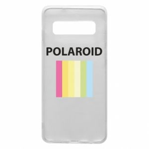 Etui na Samsung S10 Polaroid