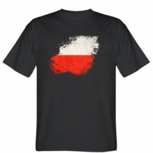 Koszulka Polish flag blot - PrintSalon
