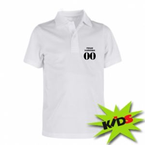 Children's Polo shirts Name and number