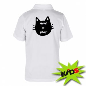 Children's Polo shirts Meow or never
