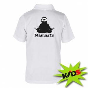 Children's Polo shirts Namaste