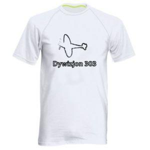 Męska koszulka sportowa Polska. Dywizjon 303