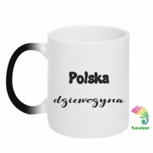 Kubek-kameleon Polska Dziewczyna