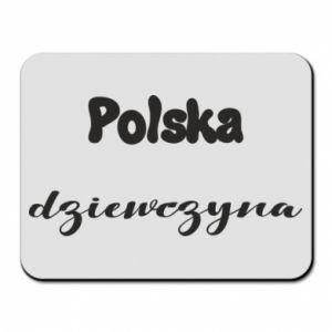 Podkładka pod mysz Polska Dziewczyna