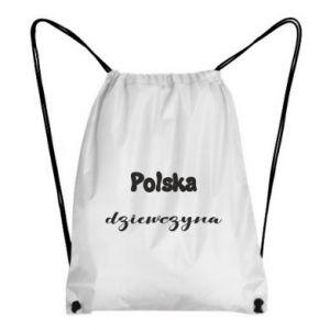 Plecak-worek Polska Dziewczyna