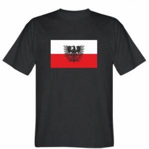 Koszulka męska Polska flaga i herb