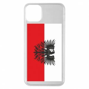Phone case for iPhone 11 Pro Max Polish flag and coat of arms