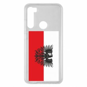 Xiaomi Redmi Note 8 Case Polish flag and coat of arms