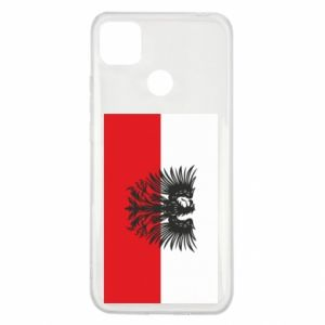Xiaomi Redmi 9c Case Polish flag and coat of arms