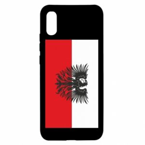 Xiaomi Redmi 9a Case Polish flag and coat of arms