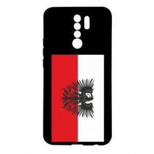 Xiaomi Redmi 9 Case Polish flag and coat of arms