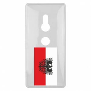 Sony Xperia XZ2 Case Polish flag and coat of arms