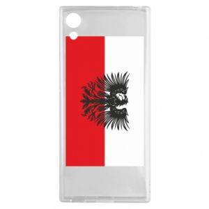 Sony Xperia XA1 Case Polish flag and coat of arms