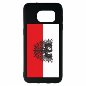 Samsung S7 EDGE Case Polish flag and coat of arms