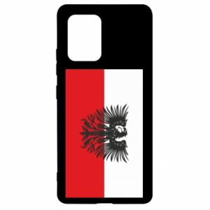 Samsung S10 Lite Case Polish flag and coat of arms
