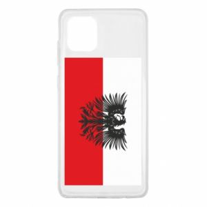 Samsung Note 10 Lite Case Polish flag and coat of arms