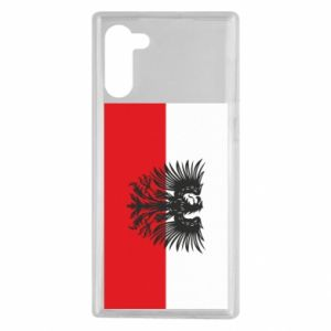 Samsung Note 10 Case Polish flag and coat of arms