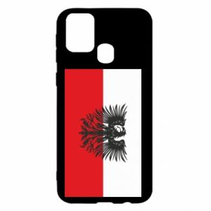 Samsung M31 Case Polish flag and coat of arms