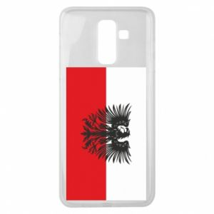 Samsung J8 2018 Case Polish flag and coat of arms
