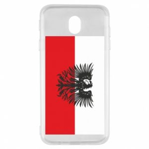 Samsung J7 2017 Case Polish flag and coat of arms