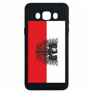 Samsung J7 2016 Case Polish flag and coat of arms