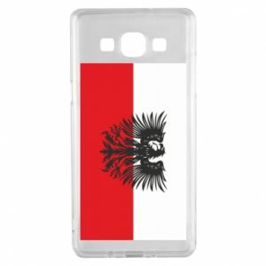 Samsung A5 2015 Case Polish flag and coat of arms