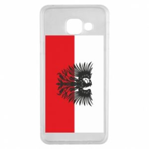 Samsung A3 2016 Case Polish flag and coat of arms