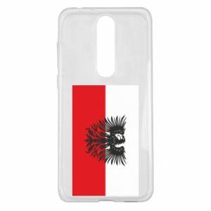 Nokia 5.1 Plus Case Polish flag and coat of arms