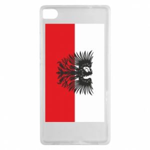 Huawei P8 Case Polish flag and coat of arms
