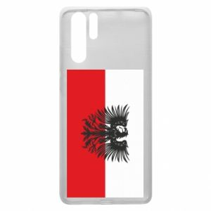 Huawei P30 Pro Case Polish flag and coat of arms