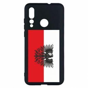 Huawei Nova 4 Case Polish flag and coat of arms