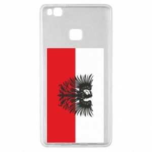 Huawei P9 Lite Case Polish flag and coat of arms