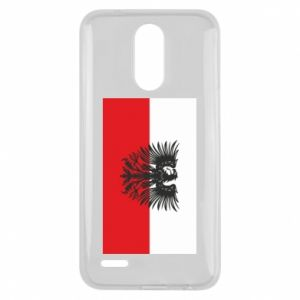 Lg K10 2017 Case Polish flag and coat of arms