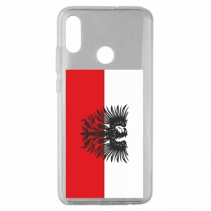 Huawei Honor 10 Lite Case Polish flag and coat of arms