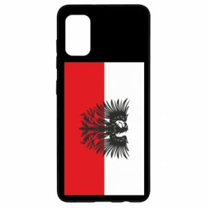 Samsung A41 Case Polish flag and coat of arms