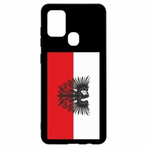 Samsung A21s Case Polish flag and coat of arms