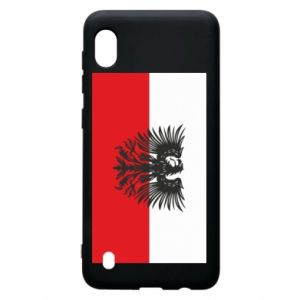 Samsung A10 Case Polish flag and coat of arms