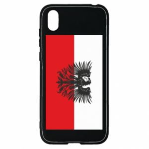 Huawei Y5 2019 Case Polish flag and coat of arms